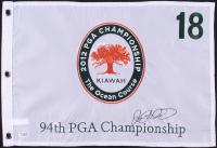 Rory McIlroy Signed 2012 94th PGA Championship-The Ocean Course Golf Pin Flag (SGC COA)