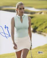 Paige Spiranac Signed 8x10 Photo (Beckett COA)