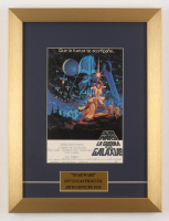 """""""Star Wars: A New Hope"""" 12.5x16.5 Custom Framed Foreign Movie Poster"""