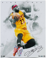 LeBron James Signed Cleveland Cavaliers 16x20 LE Photo (UDA COA) at PristineAuction.com