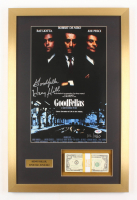 "Henry Hill Signed LE ""Goodfellas"" 17x26 Custom Framed Photo Display Inscribed ""Goodfellas"" with Replica Prop Money (PSA COA)"