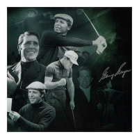 "Gary Player Signed ""Black Night"" Limited Edition 20x24 Photo (UDA COA) at PristineAuction.com"