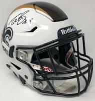 Drew Brees Signed New Orleans Saints Full-Size Authentic On-Field SpeedFlex Helmet (Steiner COA)