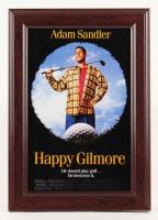 """Happy Gilmore"" 14.5x20.5 Custom Framed Movie Poster Print Display"