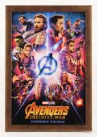 """Avengers: Infinity War"" 13.5x19.5 Custom Framed Movie Poster Photo Display"