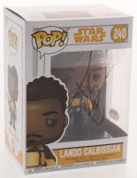"Donald Glover Signed ""Star Wars"" #240 Lando Calrissian Funko Pop Figure (PSA COA) at PristineAuction.com"