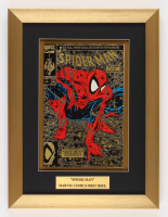 "Marvel Comics ""Spiderman""  Issue #1 Gold 12.5x16.5 Custom Framed Comic Book Display"