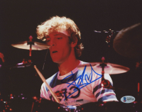 "Stewart Copeland Signed ""The Police"" 8x10 Photo (Beckett COA)"