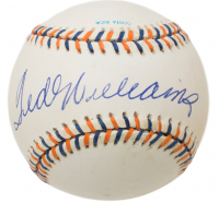 Ted Williams Signed 1992 All-Star Game Baseball (Beckett LOA)