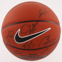 LE 2012 United States Men's Olympic Basketball Team-Signed by (17) with LeBron James, Kobe Bryant, Kevin Durant, James Harden, Carmelo Anthony (JSA LOA)