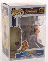 "Vin Diesel Signed ""Avengers Infinity War"" #410 Groot Funko Pop Figure (PSA COA) at PristineAuction.com"