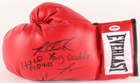 "Evander Holyfield & Riddick ""Big Daddy"" Bowe Signed Everlast Boxing Glove (PSA COA)"