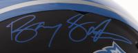 Barry Sanders Signed Detroit Lions Full-Size Matte Black Speed Helmet (Schwartz Sports COA) at PristineAuction.com