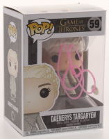 "Emilia Clarke Signed ""Game of Thrones"" #59 Daenerys Targaryen Funko Pop Figure (PSA COA) at PristineAuction.com"