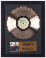 "The Eagles Custom Framed 15.5x19.75 ""Hotel California"" Record Album Display"