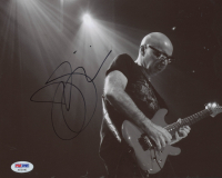 Joe Satriani Signed 8x10 Photo (PSA COA)