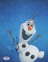 "Josh Gad Signed ""Frozen"" 8x10 Photo (PSA COA) at PristineAuction.com"