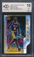 1996-97 Bowman's Best Picks Refractors #BP10 Kobe Bryant (BCCG 10) at PristineAuction.com