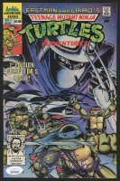 "Kevin Eastman Signed 1989 ""Teenage Mutant Ninja Turtles"" Issue #1 Comic Book with Original Sketch (JSA COA)"