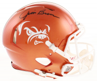 Jim Brown Signed Cleveland Browns Full-Size Authentic On-Field Speed Helmet (JSA COA)
