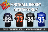 Schwartz Sports HOT HITS Signed Football Jersey Mystery Box – Series 1 – (Limited to 12)