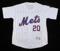 Pete Alonso Signed New York Mets Jersey (PSA COA) at PristineAuction.com