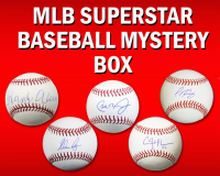 Schwartz Sports Baseball Superstar Signed MLB Baseball Mystery Box - Series 3 (Limited to 100) at PristineAuction.com