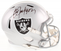 Bo Jackson Signed Raiders Full-Size Speed Helmet (Beckett COA) at PristineAuction.com