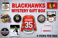 Chicago Blackhawks Champs Edition Mystery Autograph and Collectibles Gift Box–Series 2 (4 ITEMS IN EVERY BOX!!)