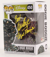 """Ken Page Signed """"The Nightmare Before Christmas"""" - Oogie Boogie #450 Funko Pop! Vinyl Figure Inscribed """"Boo!"""" & """"Oogie Boogie"""" (PA COA) (Imperfect) at PristineAuction.com"""