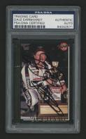 Dale Earnhardt Sr. Signed 1992 Maxx Black #294 (PSA Authenticated)