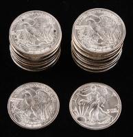 Lot of (25) 1/10 Troy oz .999 Fine Silver Walking Liberty Sunshine Minting