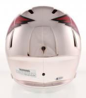 David Johnson Signed Arizona Cardinals Full-Size Chrome Speed Helmet (Beckett COA) at PristineAuction.com