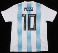 "Lionel Messi Signed Argentina Jersey Inscribed ""Leo"" (Beckett COA)"