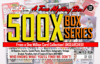 """MYSTERY 500X SERIES"" A True Sports Card Mystery Box!"