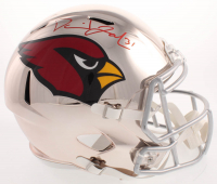 David Johnson Signed Arizona Cardinals Full-Size Chrome Speed Helmet (Beckett COA)