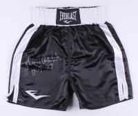 """Pernell Whitaker Signed Everlast Boxing Trunks Inscribed """"HOF 07"""" (Schwartz COA)"""