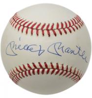 Mickey Mantle Signed OAL Baseball (Beckett LOA)