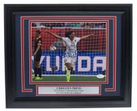 Christen Press Signed Team USA 11x14 Framed Photo Display (JSA COA)