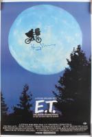 "Henry Thomas Signed ""E.T. the Extra-Terrestrial"" 26x38.5 Movie Poster Inscribed ""Elliott"" (Beckett COA)"