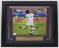 Alex Morgan Signed Team USA 11x14 Custom Framed Photo Display (JSA COA)