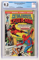 "1976 ""The Spectacular Spider-Man"" Issue #1 Marvel Comic Book (CGC 9.2)"