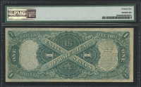 1874 $1 One Dollar Legal Tender Large Bank Note (PMG 25) at PristineAuction.com