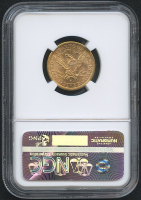 1882-S $5 Five Dollars Liberty Head Half Eagle Gold Coin (NGC MS 62) at PristineAuction.com