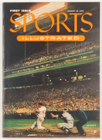 Original First Issue Sports Illustrated Magazine from August 16, 1954 with Commemorative Case