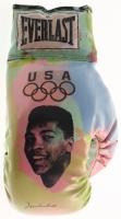 Muhammad Ali Signed Limited Edition Steve Kaufman Hand-Painted Everlast Team USA Boxing Glove (JSA ALOA)