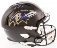 Lamar Jackson Signed Baltimore Ravens Full-Size Speed Helmet (JSA COA)