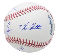 "Nolan Ryan Signed OML Baseball Inscribed ""H.O.F. '99"", ""324 Wins"", ""7 No- Hitters"", & ""5,714 K's"" (JSA COA) at PristineAuction.com"