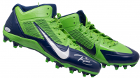 Russell Wilson Signed Pair of (2) Seattle Seahawks Nike Cleats (JSA COA & Wilson Hologram)