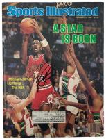 Michael Jordan Signed 1984 Sports Illustrated Magazine (Beckett LOA) at PristineAuction.com